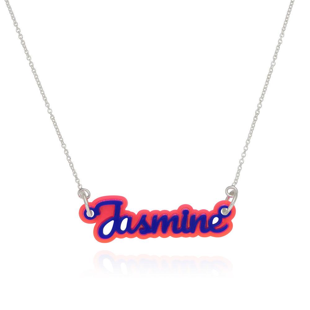 Retro Acrylic Name Necklace! - 1