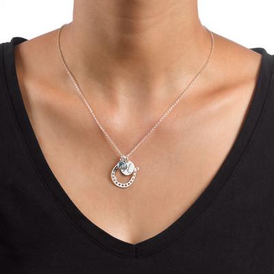 Horseshoe Jewellery with Initial Charm - 2