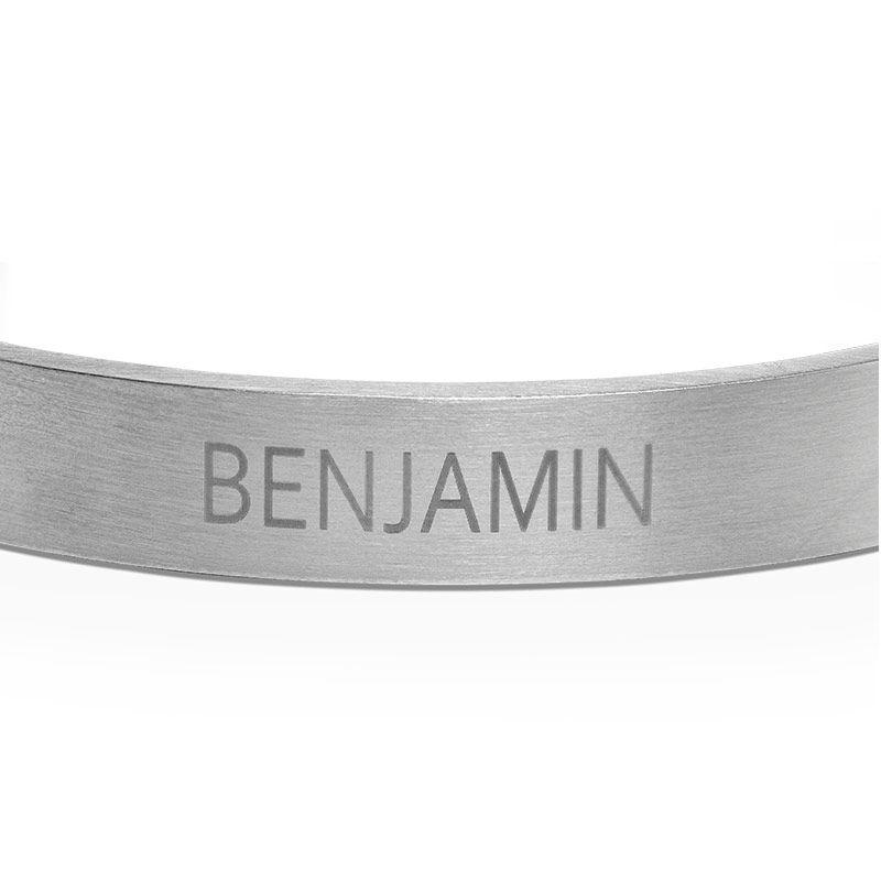 Stainless Steel Bangle for Men - 1