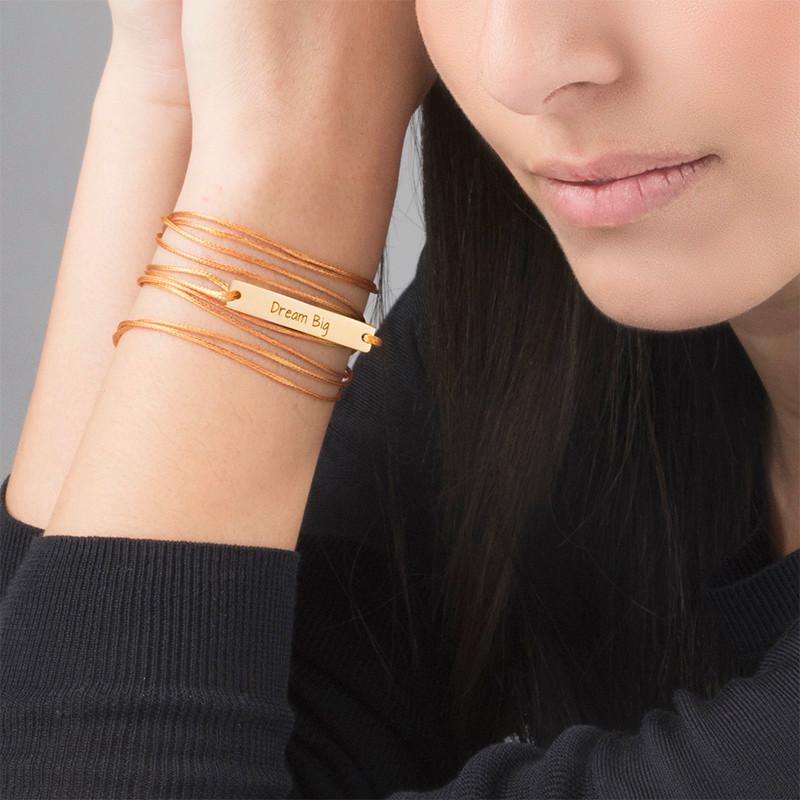 "Inspirational Jewellery - ""Dream Big"" Bar Bracelet - 2"