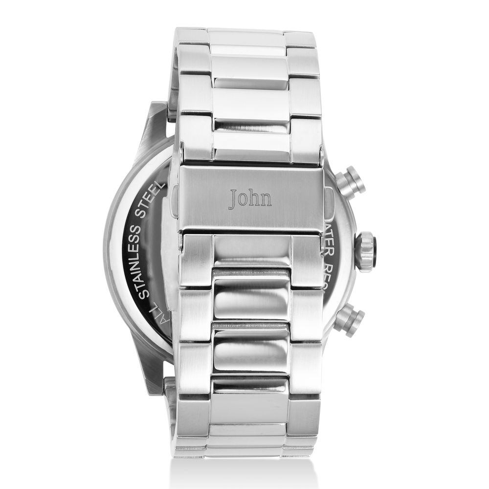 Quest Chronograph Stainless Steel Watch for Men - 2