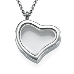 Silver Heart Locket product photo