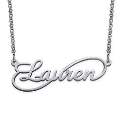 Signature Infinity Style Name Necklace product photo