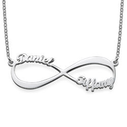 Infinity Name Necklace in 940 Premium Silver product photo
