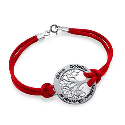 Sterling Silver Family Tree Bracelet product photo