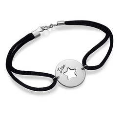 Personalised Cut Out Star Bracelet product photo