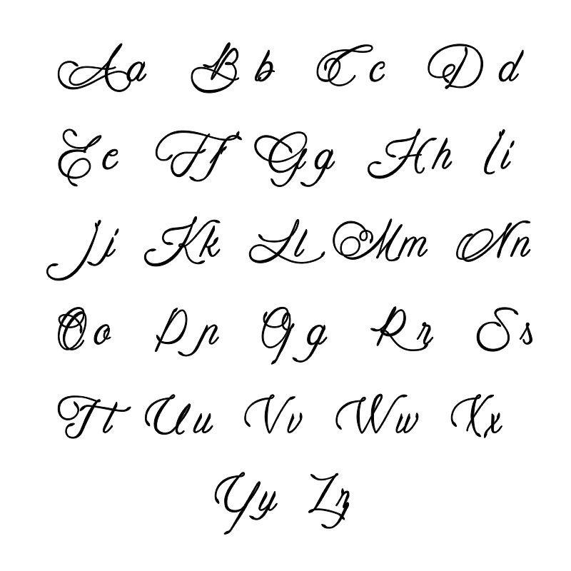 Vertikale Infinity-Namenskette mit Geburtsteinen aus vergoldeten Silber - 3