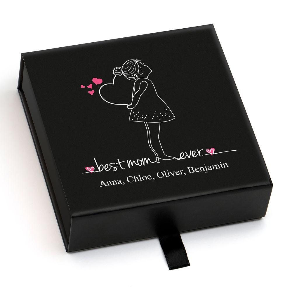 Personalisierte Premium-Geschenkbox, Grußkarte und Geschenktüte - 1