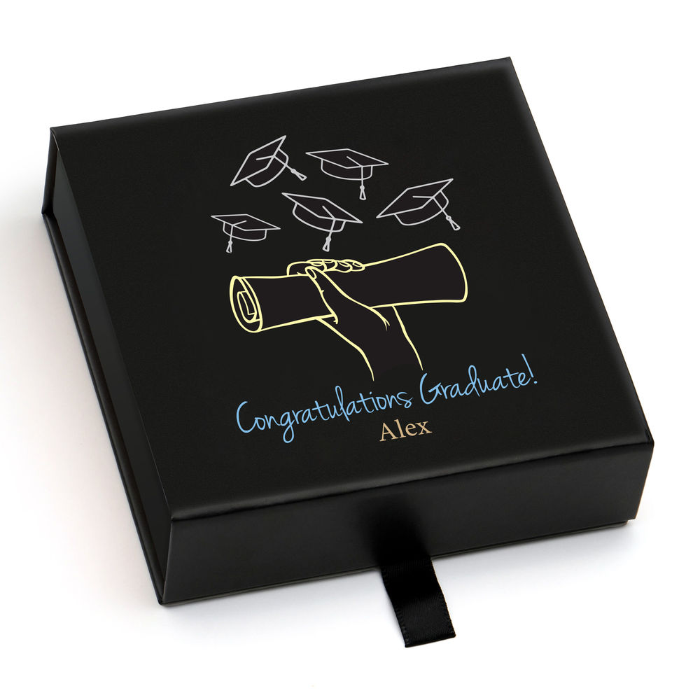 Personalisierte Premium-Geschenkbox, Grußkarte und Geschenktüte - 7