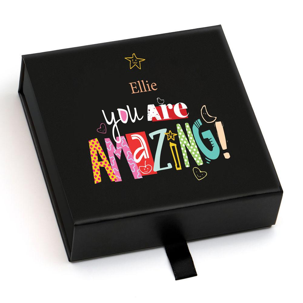 Personalisierte Premium-Geschenkbox, Grußkarte und Geschenktüte - 8