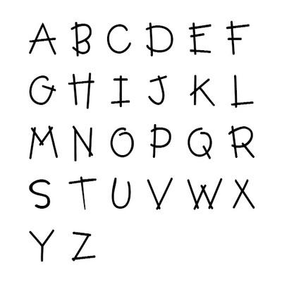 Regenbogenkette mit Initialen Anhänger für Kinder - 1