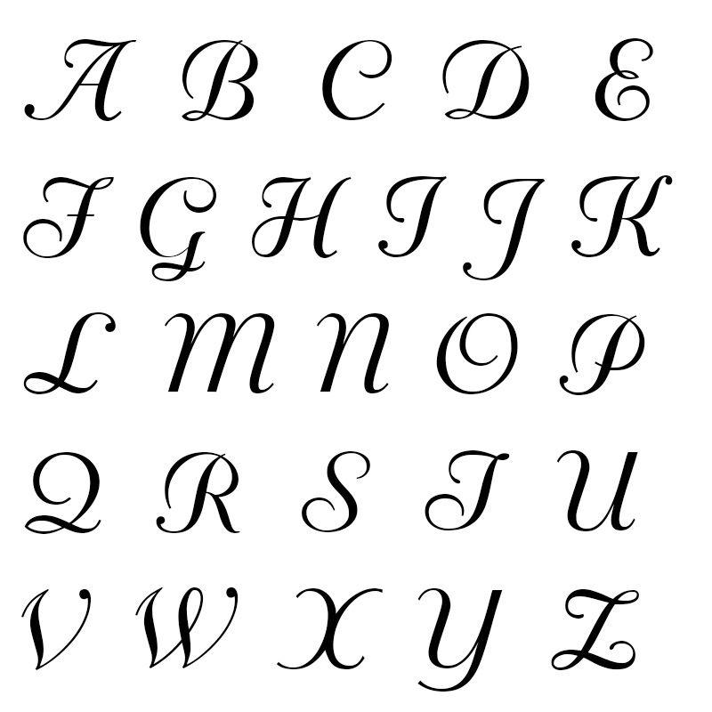 Rosenkette mit Buchstaben-Charms aus Sterlingsilber - 3