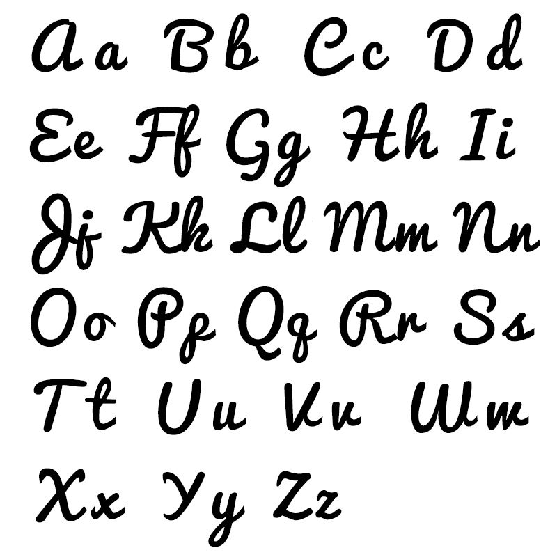 Namenskette in Schreibschrift mit 750er Rosévergoldung - 3