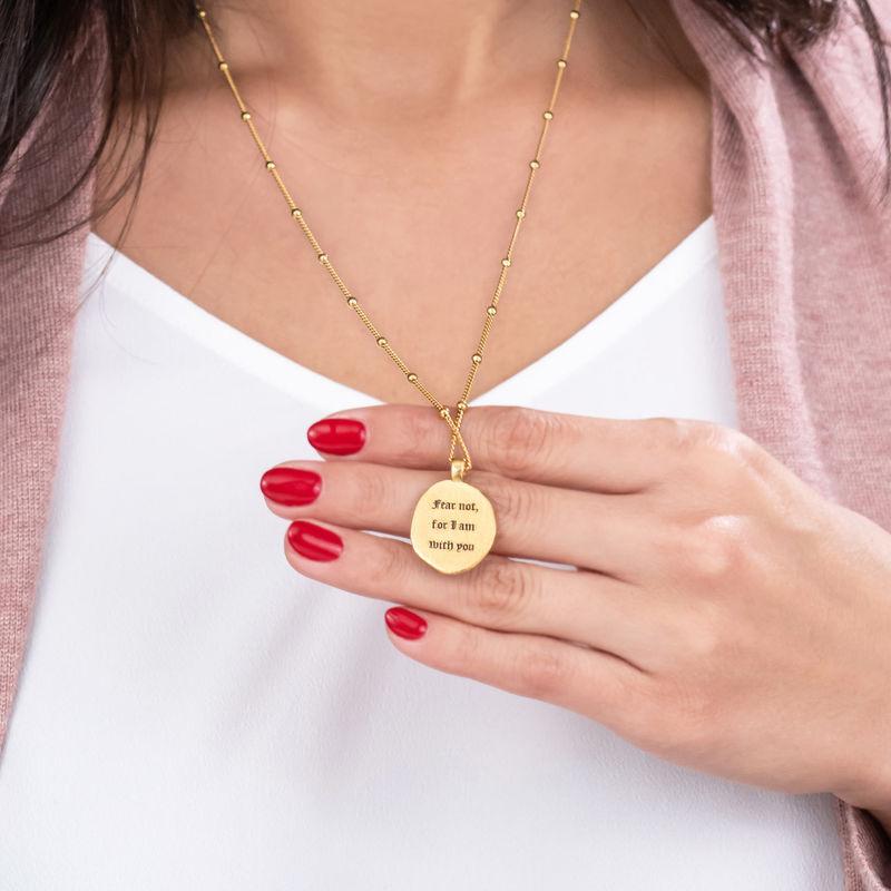 Vergoldete Jesus-Christus und Maria-Münzkette - 2