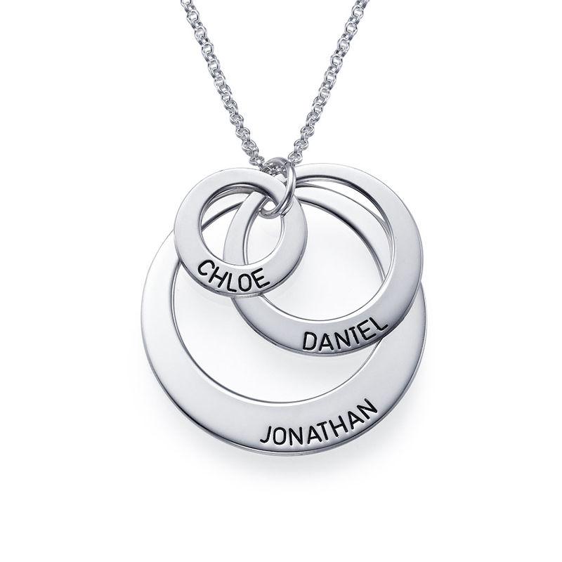 Kette mit drei Ringen für Mütter - 1