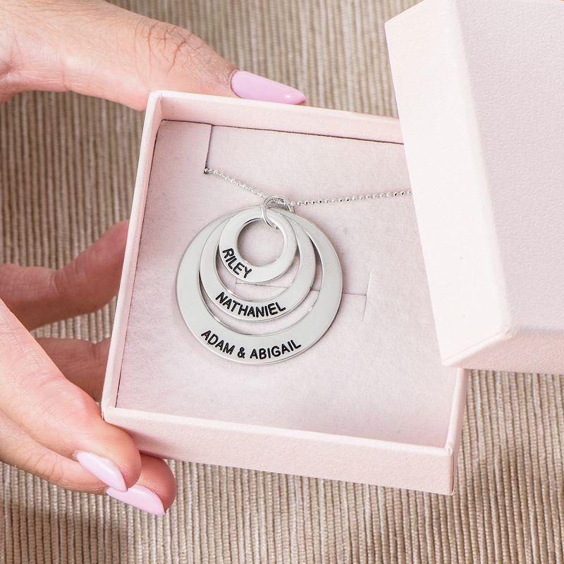 Kette mit drei Ringen für Mütter - 6