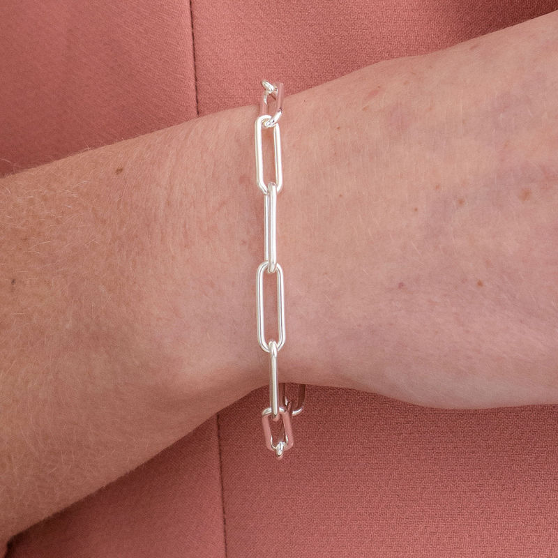 Chain Link Armband aus Sterlingsilber - 2