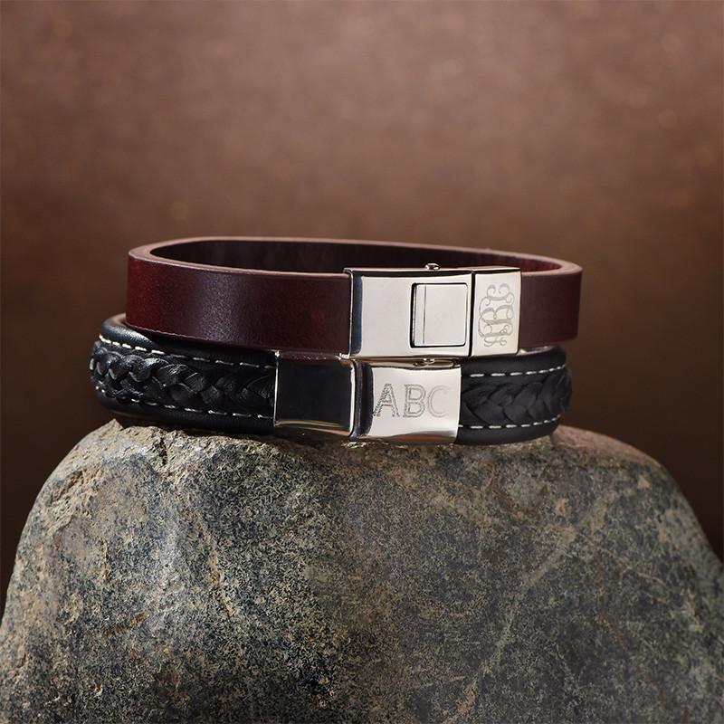 Männer Armband mit Initialen - 2