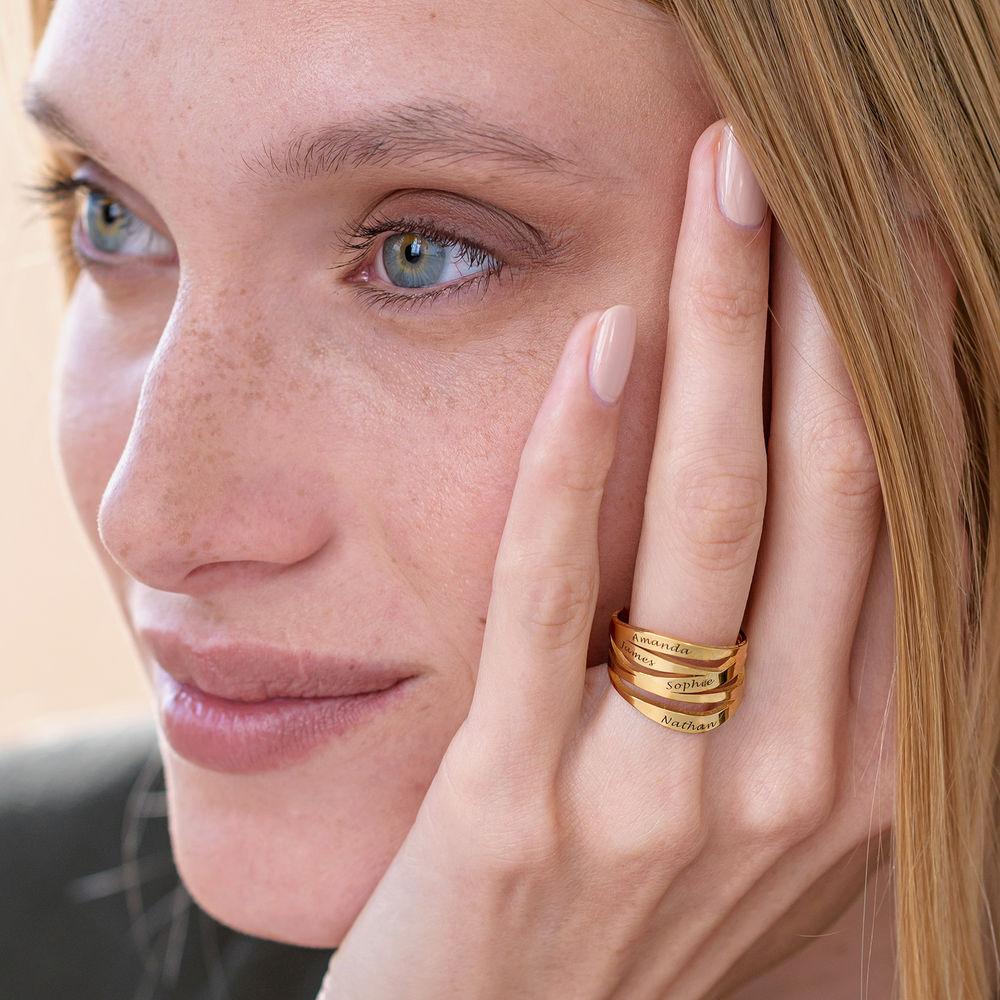 Margeaux Ring mit Namen - mit 750er Vergoldung - 3