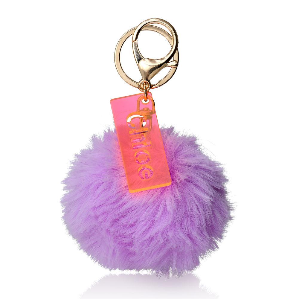 Personalisierter Pompon & Handtaschenanhänger - 1