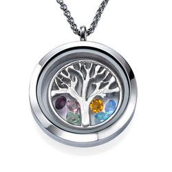 Charm Medaillon - Familienstammbaum Produktfoto