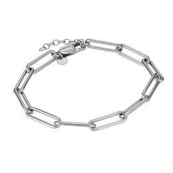 Chain Link Armband aus Sterlingsilber Produktfoto