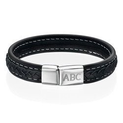 Männer Armband mit Initialen Produktfoto