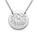925er Silber Monogramm Medallion