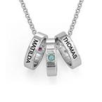 Ringkette für Mütter mit Gravur
