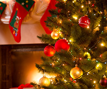 Ihre häusliche Weihnachtsdekoration umgestalten