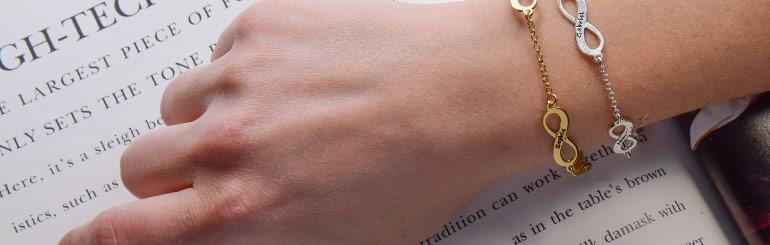 Mehrfach Infinity-Armband