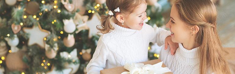 Weihnachtsgeschenke für Mütter