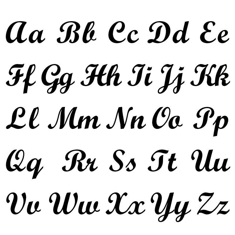 Infinity-Namenskette aus 417er-Weißgold - 6