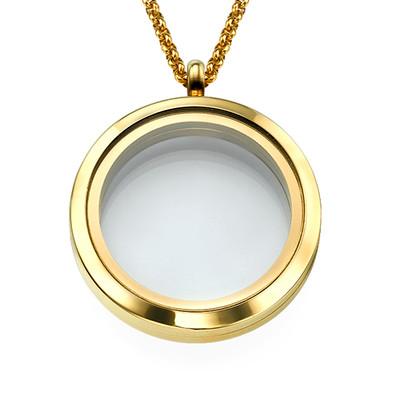 Vergoldetes Medaillon