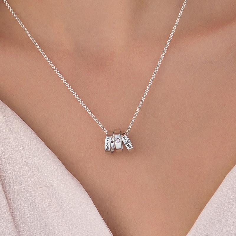 Ringkette für Mütter mit Gravur - 4