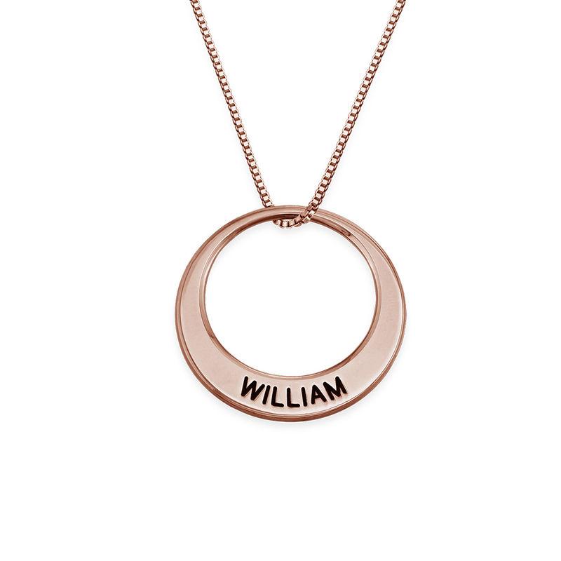 Multiple Ringkette mit Rosévergoldung - 1