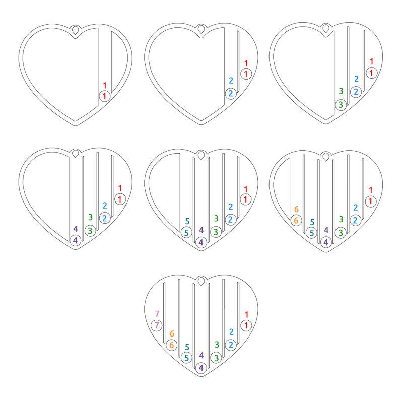 Geburtssteinkette für Mama mit Vergoldung - 7