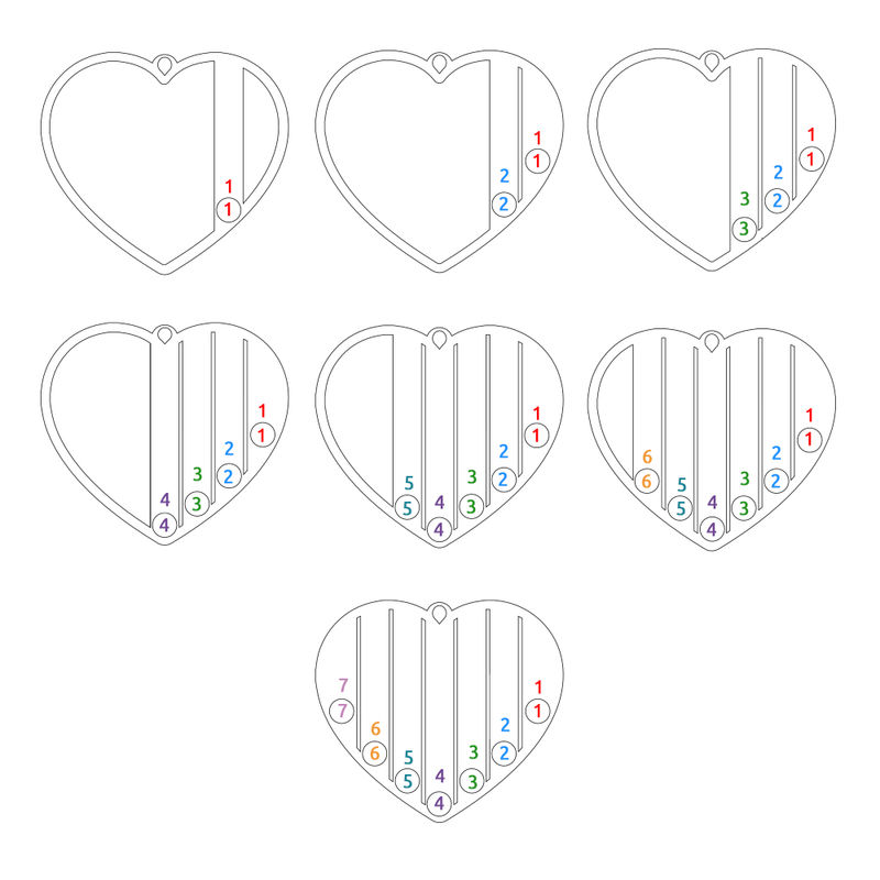 Geburtssteinkette für Mama mit Rosévergoldung - 8