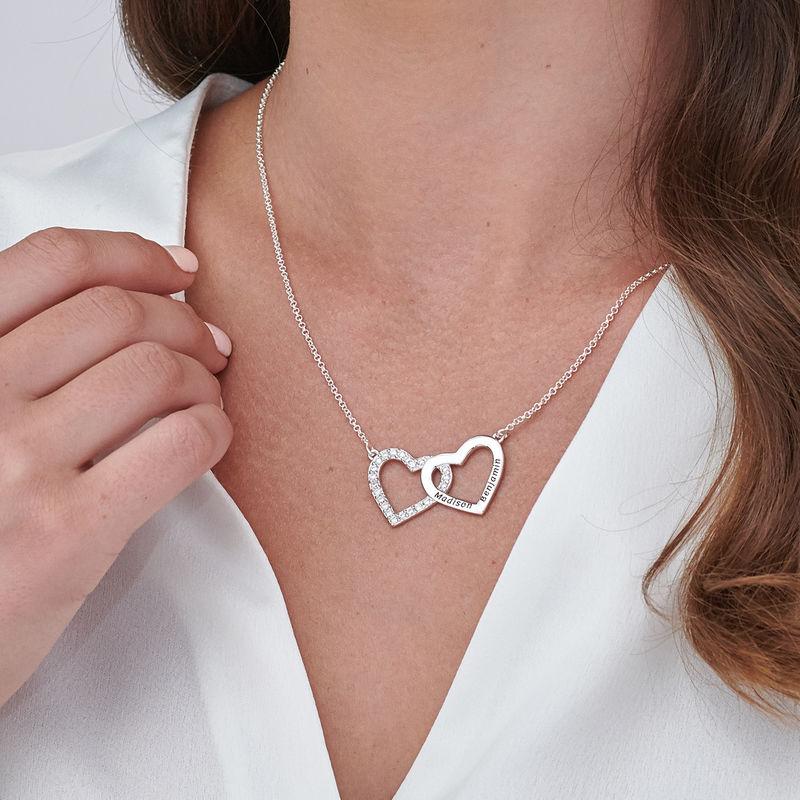 Herzkette aus Sterlingsilber - 2