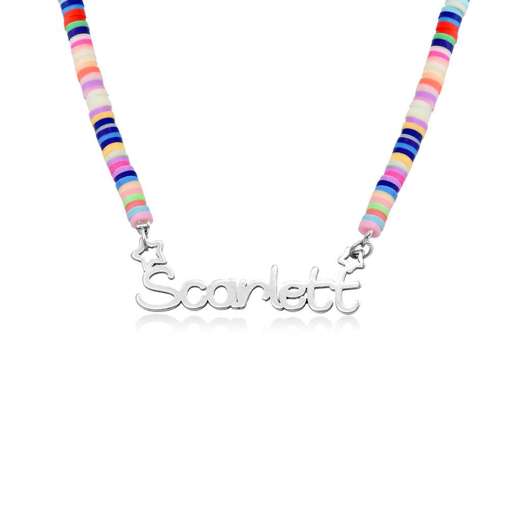 Regenbogenkette aus Sterling Silber für Mädchen