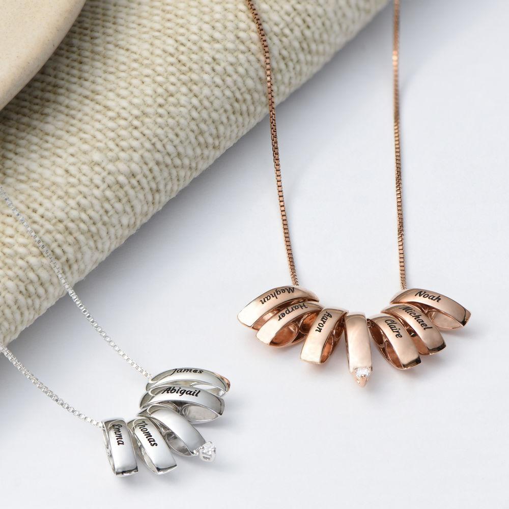 Eine ganze Menge Liebe Halskette aus Rosévergoldetes 925er Sterling Silber - 2