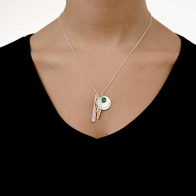Persönliche Charm-Halskette für Mütter - 2
