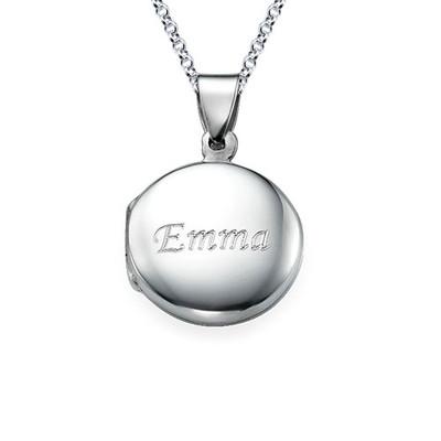 Personalisiertes Silber Medaillon