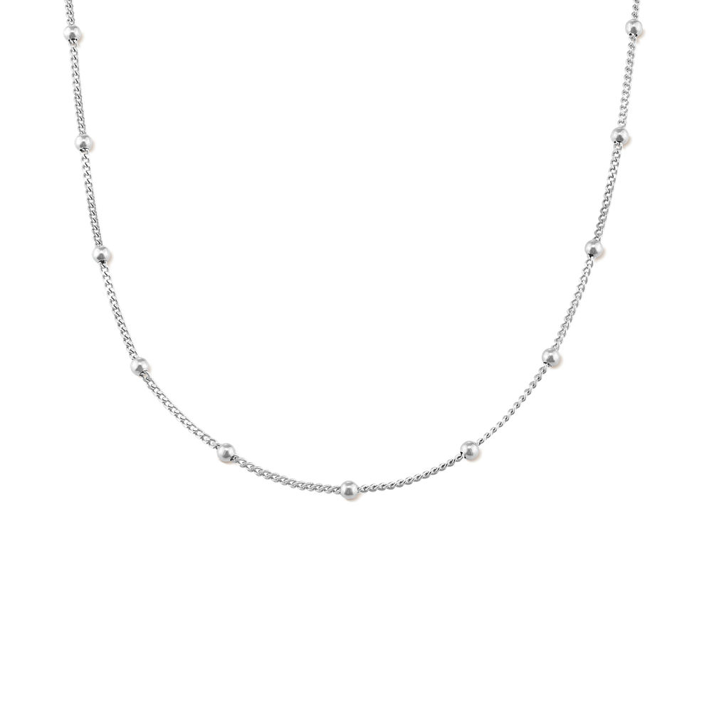 Bobble Halskette aus 925er Sterling Silber