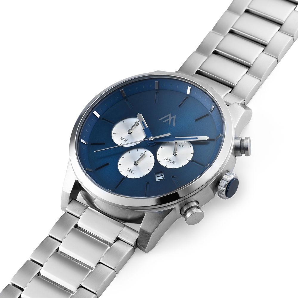 Quest Chronograph Herren Uhr - Edelstahl - 1