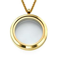 Vergoldetes Medaillon Produktfoto
