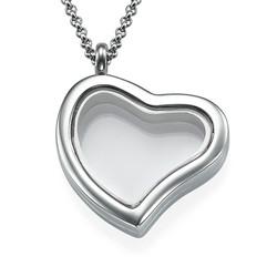 Herzförmiges Medaillon Produktfoto