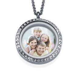 Medaillon-Fotokette für Mama Produktfoto