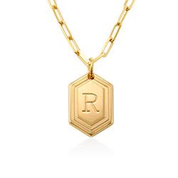 Cupola Glieder-Halskette in Gold-Vermeil Produktfoto