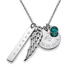 Persönliche Charm-Halskette für Mütter Produktfoto